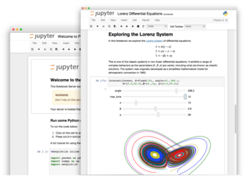 Abb. 5: Jupyter Notebook. © Project Jupyter