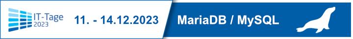 IT-Tage - MySQL/Maria DB